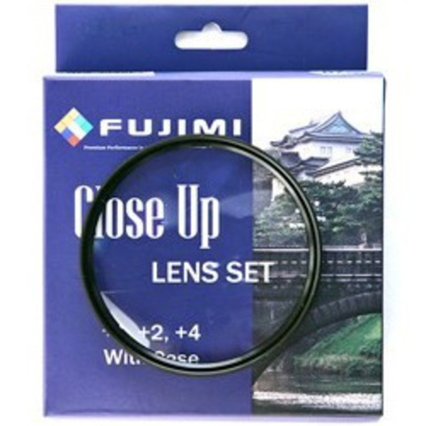 Макролинзы Fujimi Close-up Lens Set +1+2+4 62mm