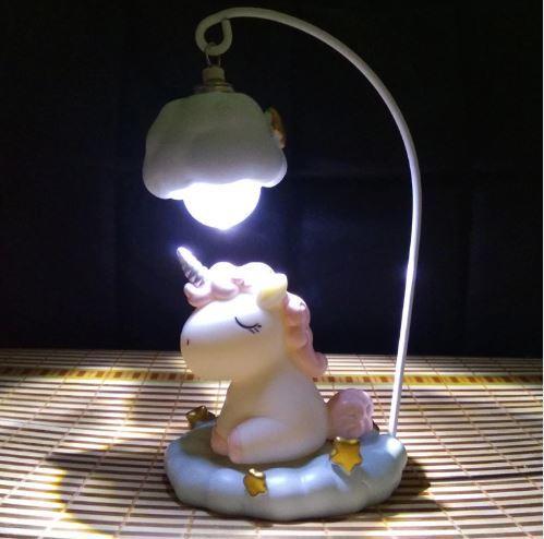 Единорог светильник настольный
