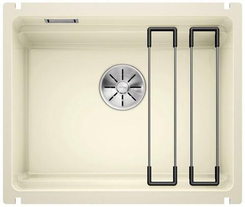 Кухонная мойка Blanco Etagon 500-U Ceramic PuraPlus, глянцевый магнолия