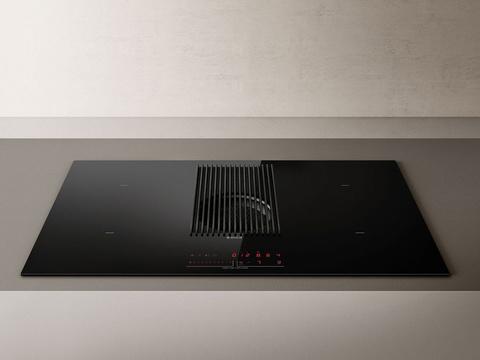 Индукционная варочная панель со встроенной вытяжкой Elica NikolaTesla PRIME BL/A/83
