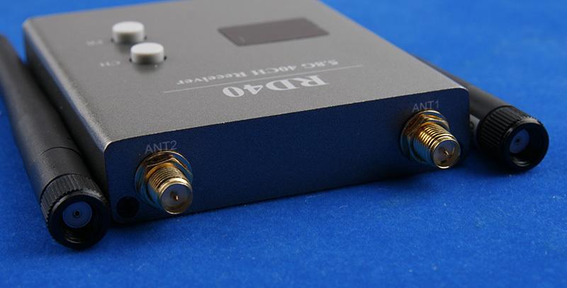 Приёмник FPV Skyzone RD40 5.8 ГГц 40 каналов с антеннами