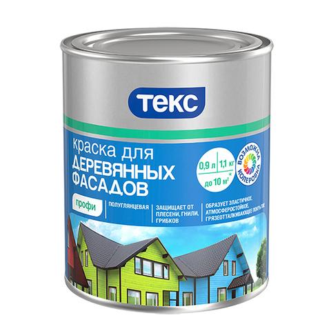 Текс Профи краска для деревянных фасадов