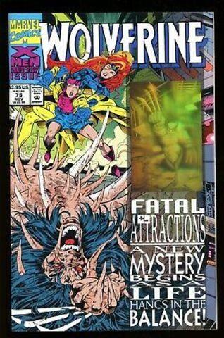 Wolverine #75 Fatal Attractions с голографической обложкой