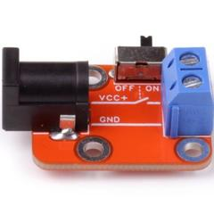 Коммутатор питания с движковым переключателем (Quatro-модуль)