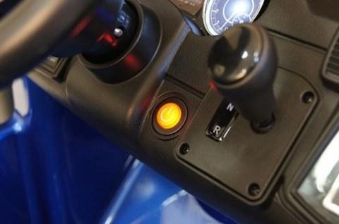 Детский электромобиль Rivertoys Mercedes-Benz GLS AMG синий глянец GLS63-AMG-BLUE-GLANEC