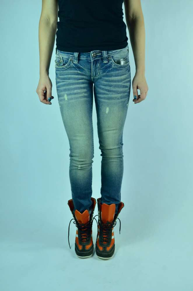 Женские голубые джинсы доставка