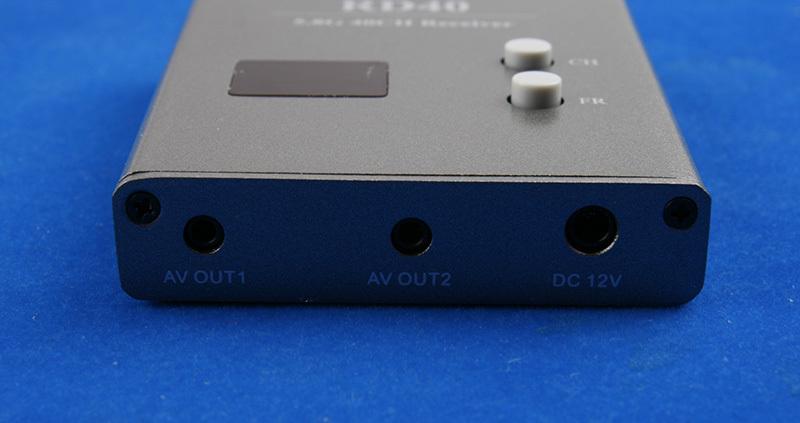 Разъёмы приёмника FPV Skyzone RD40 5.8 ГГц 40 каналов