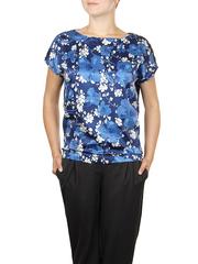 B300-8z блузка женская, синяя