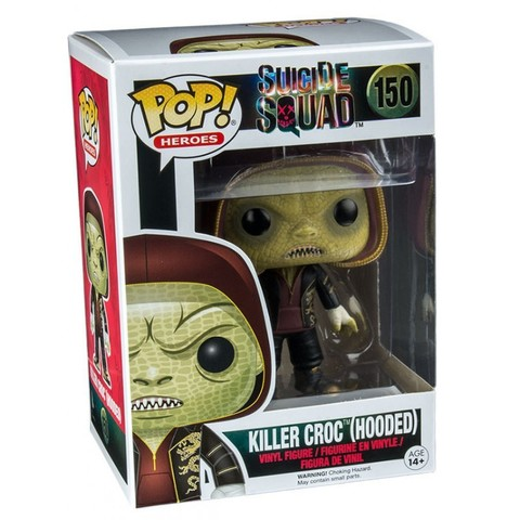 Фигурка Funko POP! Vinyl: Suicide Squad: Killer Croc Hooded (Exc) 11438WM
