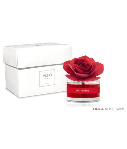Ароматический диффузор с розой Лепестки розы, Muha