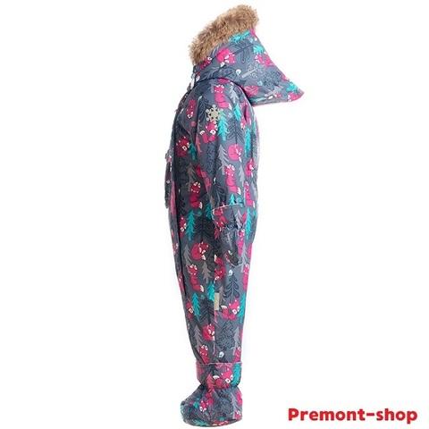 Комбинезон Premont для девочки Сказки канадского леса WP91055 Grey