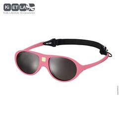Очки солнцезащитные детские Ki ET LA Jokala 2-4 года. Pink (розовый)