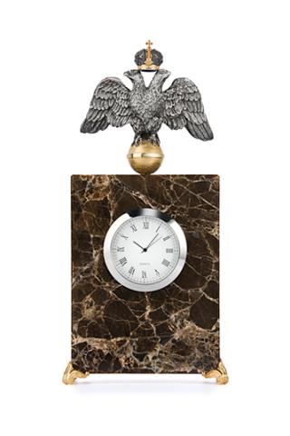 Мраморные часы «Державные».