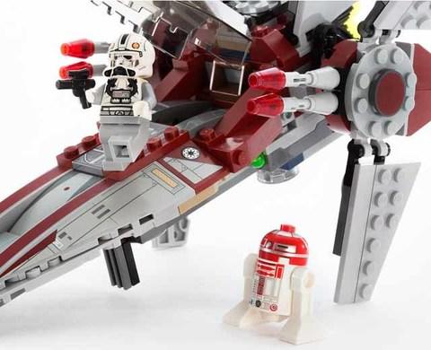 LEGO Star Wars: Звездный истребитель V-Wing 75039 — V-Wing Starfighter — Лего Звездные войны Стар Ворз