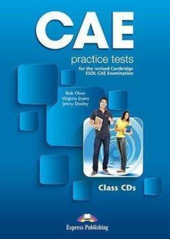 Obee Bob, Evans Virginia & Dooley Jenny. CAE Practice Tests Audio CDs (3)