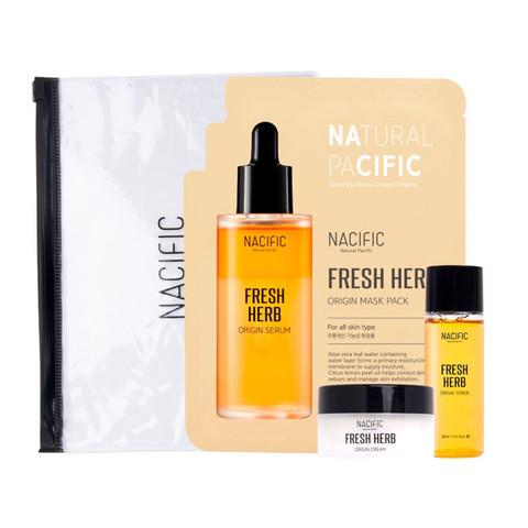 Набор Миниатюр В Косметичке NACIFIC Fresh Herb Oroginal Kit