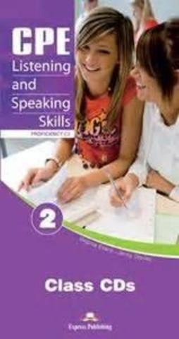 CPE Listening & Speaking Skills 2. Proficiency C2. Class CD's (set of 6) NEW. Аудио CD для работы  в классе (6 шт).
