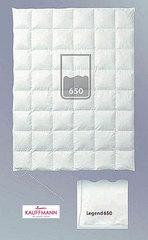 Одеяло пуховое очень легкое 200х220 Kauffmann Legend 650