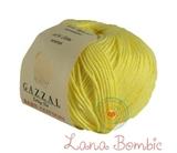 Пряжа Gazzal Baby Cotton 3413 светло-желтый
