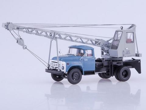 ZIL-130 AK-75V Truck crane blue-gray 1:43 AutoHistory