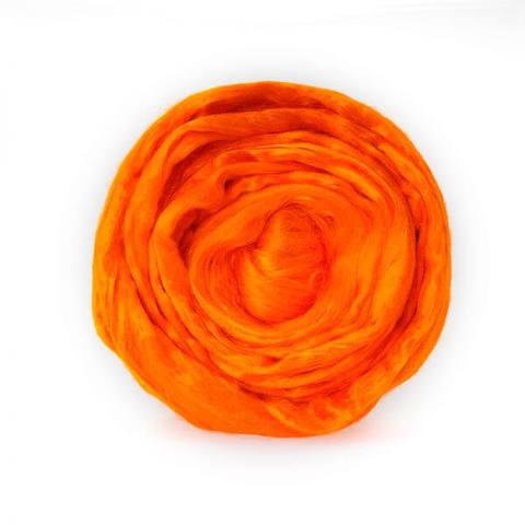 Вискоза для валяния (Троицкая) 490 ярко-оранжевый