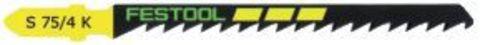 Пильное полотно для лобзика FESTOOL S 75/4 K/5