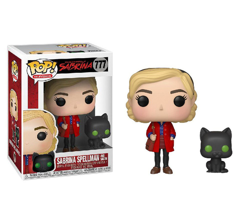 Фигурка Funko POP! Vinyl: Chilling Adventures: Sabrina w/ Salem 38866