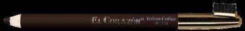 El Corazon карандаш для бровей 308  кофе