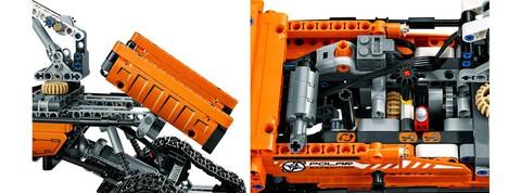 LEGO Technic: Арктический вездеход 42038