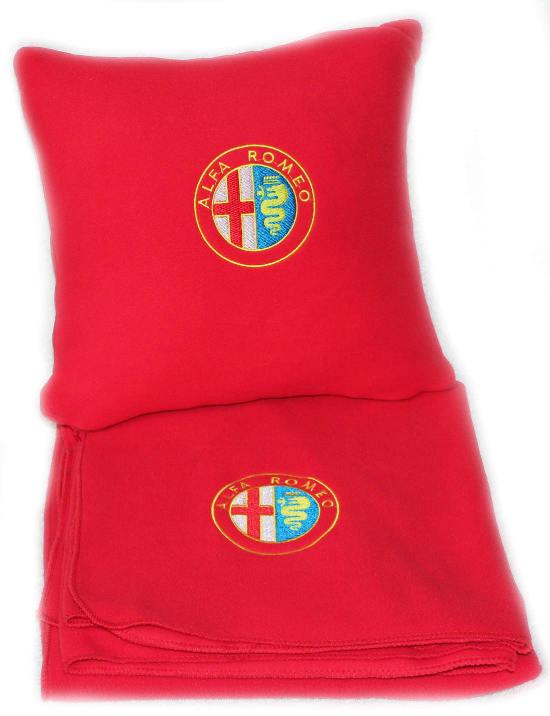Плед в чехле с логотипом Alfa Romeo