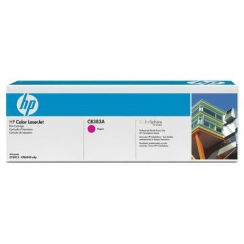 Картридж HP CB383A magenta - тонер-картридж для HP Color LaserJet CP6015, CM6030, CM6030f, CM6040, CM6040f (пурпурный, 21000 стр.)