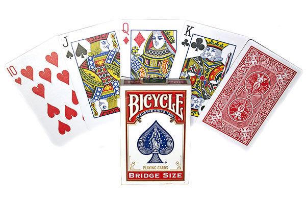 Карты для покера и бриджа