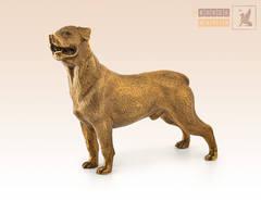 Собака Ротвейлер большой