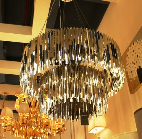chandelier replica Facet by INNERMOST 2 levels