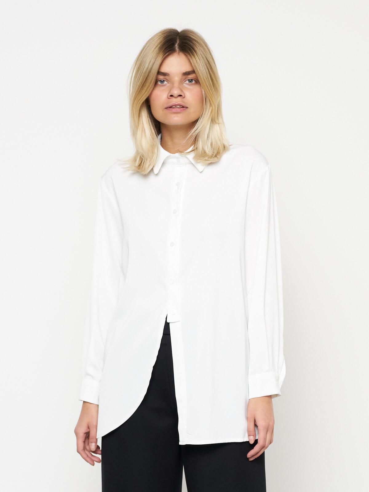 Рубашка асимметричная