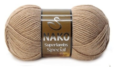 Пряжа Nako Superlambs Special арт. 10439 песок