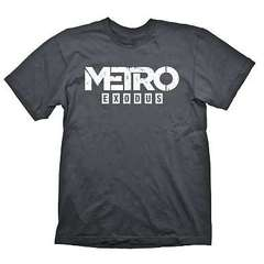 Футболка Metro Exodus Logo Grey