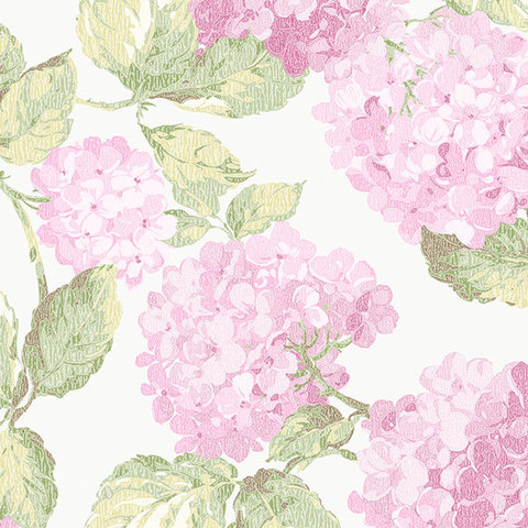 Обои Aura English Florals G34311, интернет магазин Волео