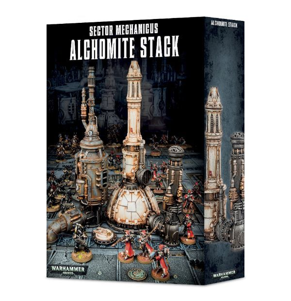 Sector Mechanicus Alchomite Stack. Коробка
