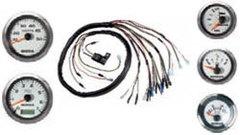 06360-ZW5-013SK Комплект приборов 5 шт. Хром. с проводкой (линза, незапотев.)