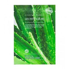 Secret Nature Soothing Aloe Mask Sheet - Смягчающая маска для лица с экстрактом алоэ