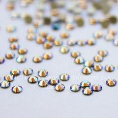 2058 Стразы Сваровски холодной фиксации Black Diamond Shimmer ss 5 (1,8-1,9 мм), 20 штук