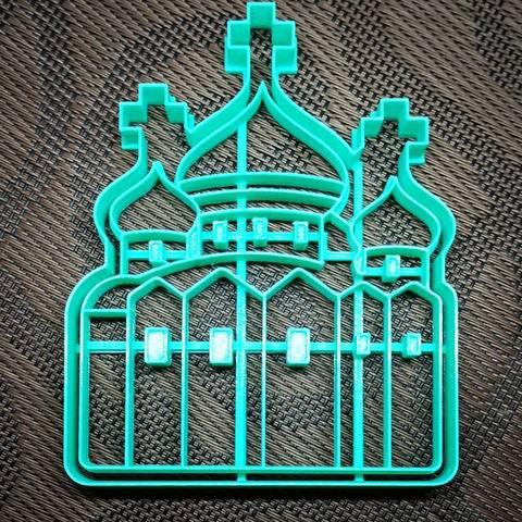 Храм форма для пряника