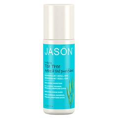 Шариковый дезодорант-антисептик с маслом чайного дерева, Jason
