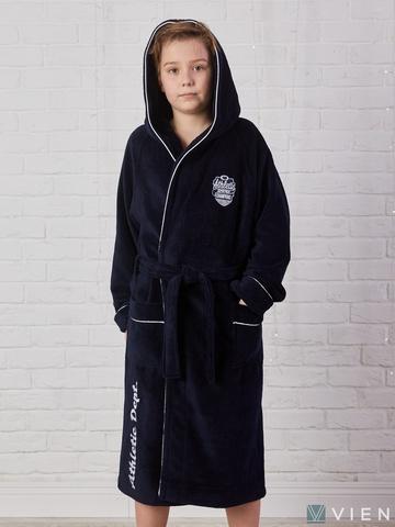 ATHLETIC DEPT (Navy) халат для мальчика  Five Wien (Турция)