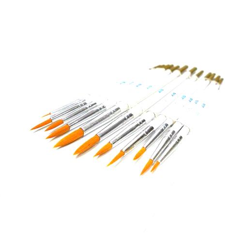 Инструменты Набор кистей из синтетического волоса 12шт. (№ 0000, 000, 00, 0, 1, 2, 3, 4, 5, 6) Без_имени-35.jpg
