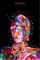 Постер Арт Звёздные войны C-3PO