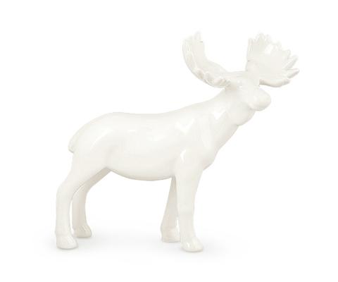 Фигура Лось белая