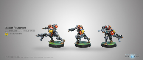 Krakot Renegades (2 Submachine guns)