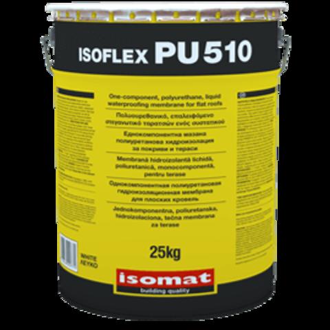 Isomat Isoflex PU 510/Изомат Изофлекс ПУ 510 полиуретановая однокомпонентная жидкая гидроизоляционная мембрана
